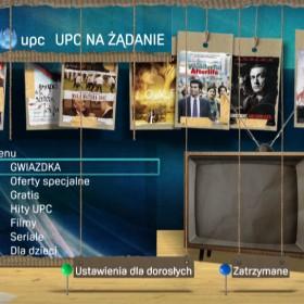 UPC <span>Re-design on-demand menu</span>